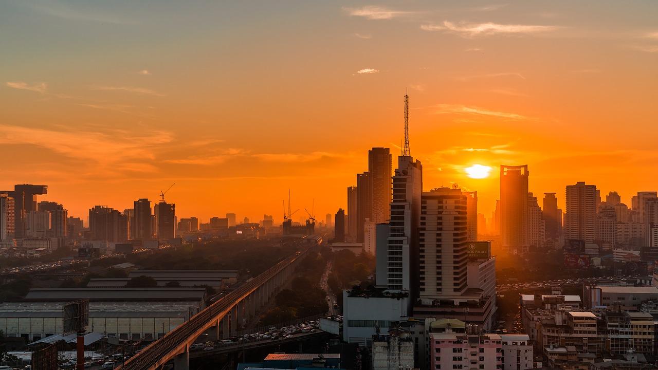 Бангкок -рассвет