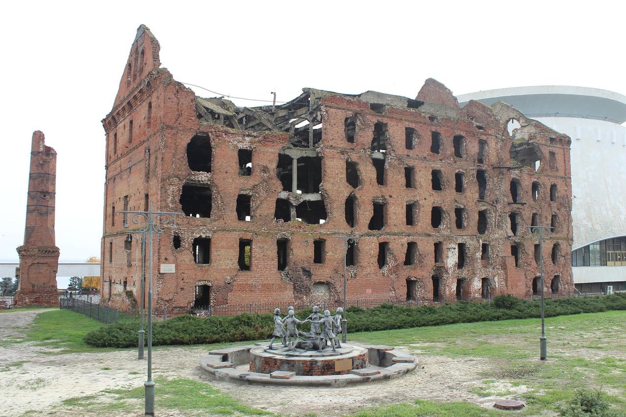Руины мельницы-Волгоград