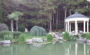 Парк Айвазовского в Партените (Крым)