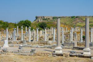 Город Перге в Турции