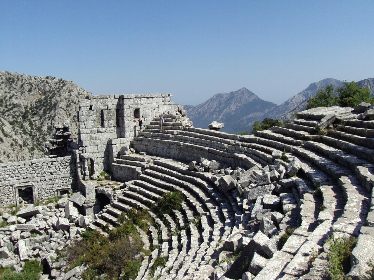 Древний город Термессос в Анталии