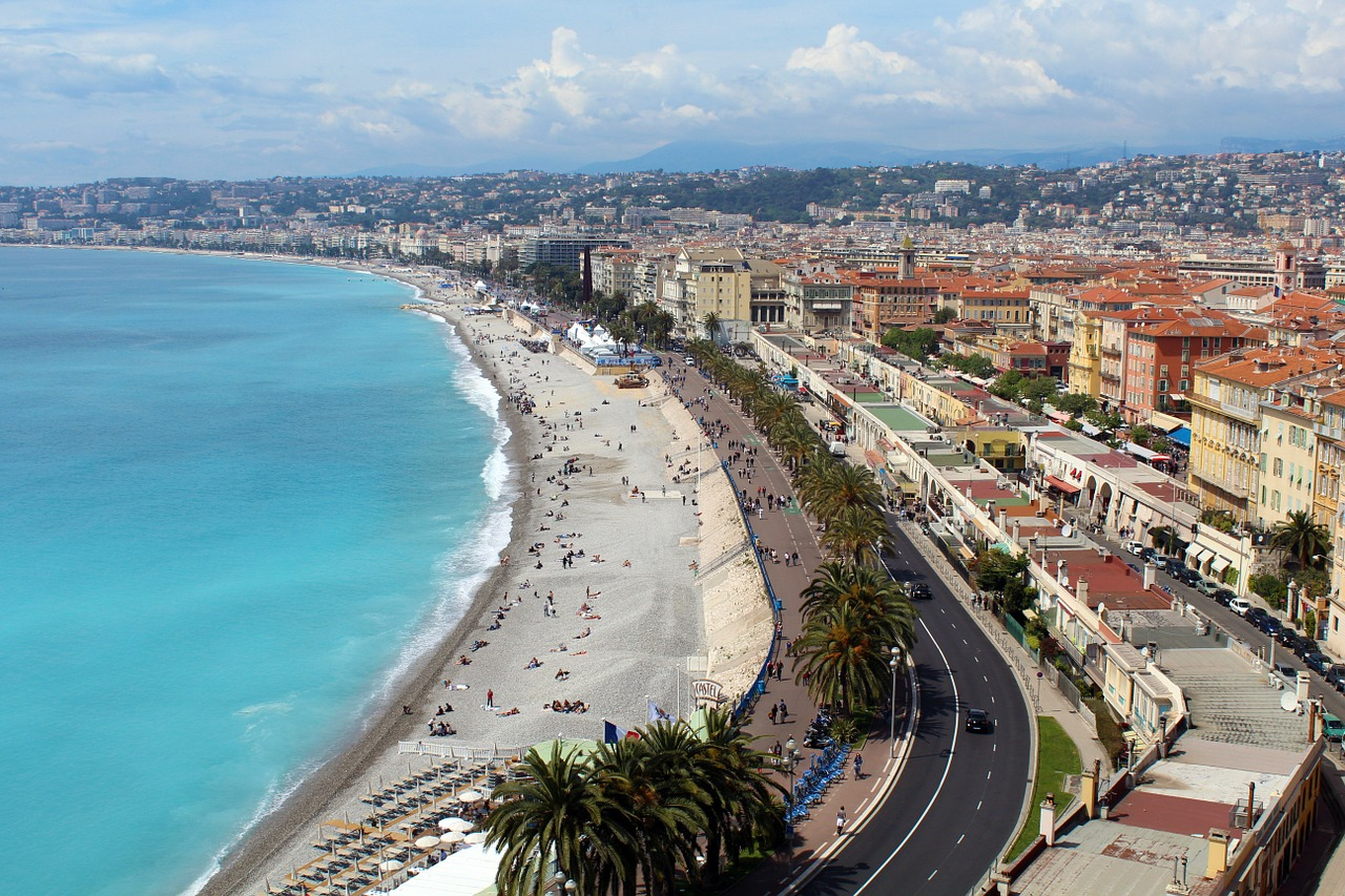 Ницца — город на лазурном берегу Франции