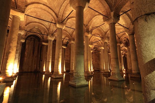 Цистерна базилика - Стамбул