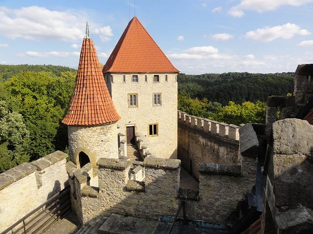Замки Чехии