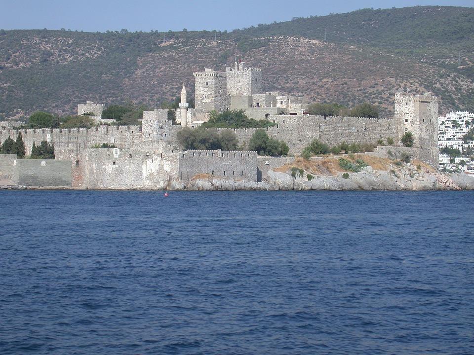 Замок Бодрум в Турции